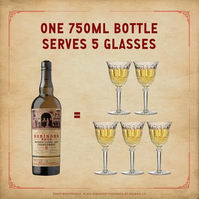 Beringer Chardonnay, Bourbon Barrel Aged, California