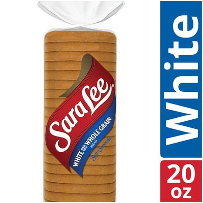 Sara Lee White Made with Whole Grain Bread