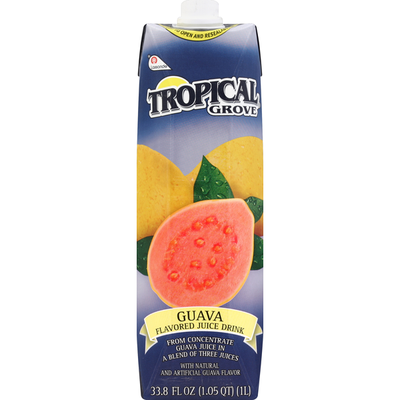 Tropical Grove Flavored Juice Drink, Guava