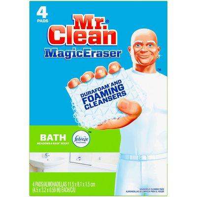 Mr. Clean Magic Eraser Bath, Cleaning Pads with Durafoam