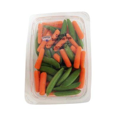 Kroger Fresh Selections Carrots & Sugar Snap Peas