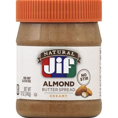 Jif Butter Spread, Almond, Creamy