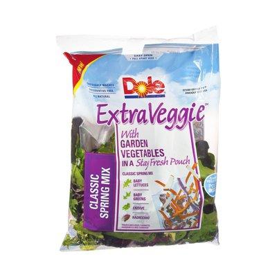 Dole Extra Veggie Salad Classic Spring Mix