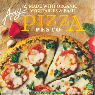 Amy's Kitchen Pesto Pizza