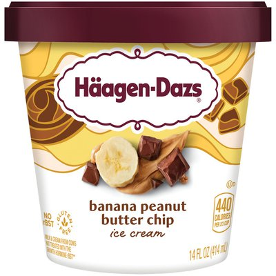 Haagen-Dazs Banana Peanut Butter Chip Ice Cream