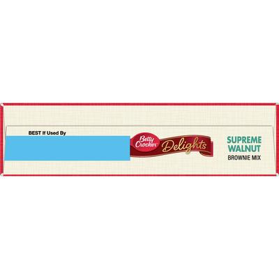 Betty Crocker Supreme Walnut Brownie Mix