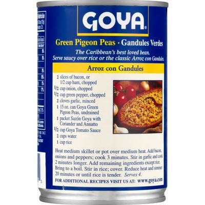 Goya Green Pigeon Peas (Gandules)