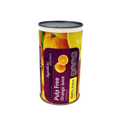 Signature Kitchens Pulp Free 100% Orange Juice Frozen Concentrate