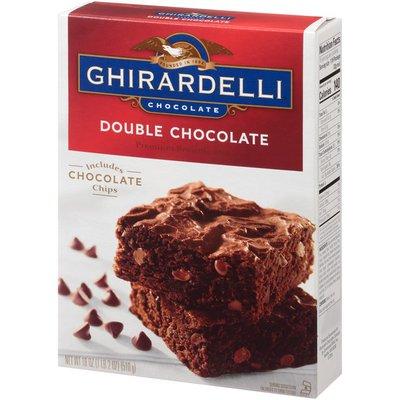 Ghirardelli Double Chocolate Premium Brownie Mix