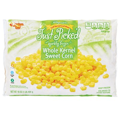 Wegmans Frozen Whole Kernel Corn