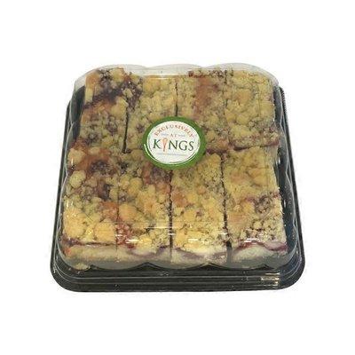 Strawberry Cheese Crumble Cake