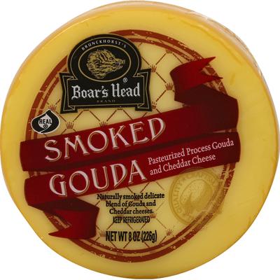 Boar's Head Cheese, Gouda, Smoked