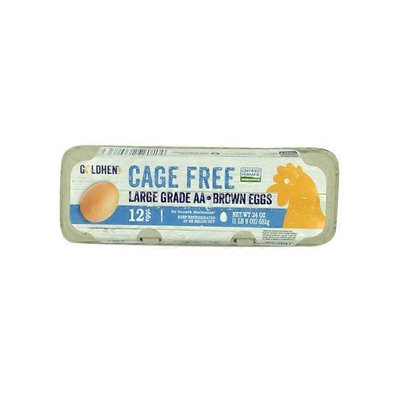 Goldhen Large Cage Free Grade Aa Eggs