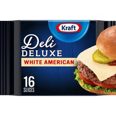 Kraft White American Sliced Cheese
