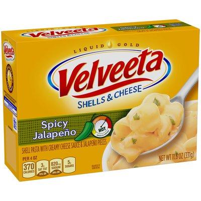 VELVEETA Spicy Jalapeño Shells & Cheese