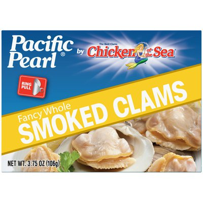 Pacific Pearl Smoked EZ Open Clams