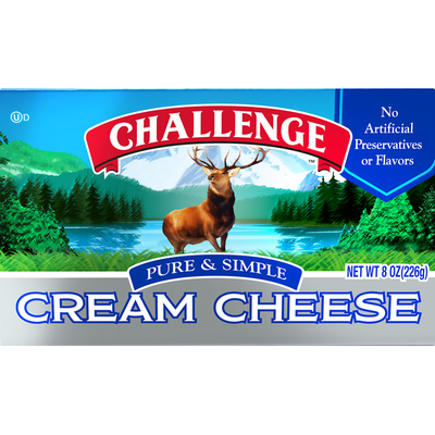 Challenge Pure & Simple Cream Cheese