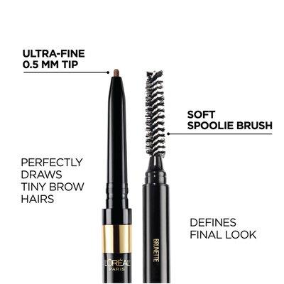 L'Oreal Definer Waterproof Eyebrow Pencil Dark Brunette