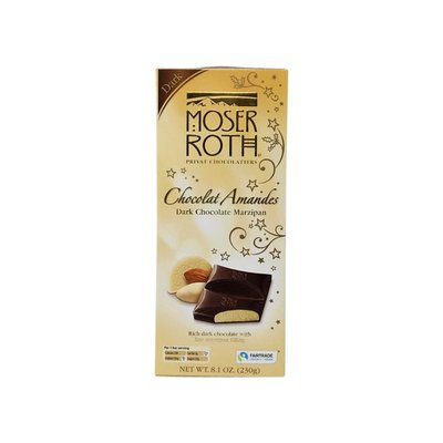 Moser Roth Dark Chocolate Amandes