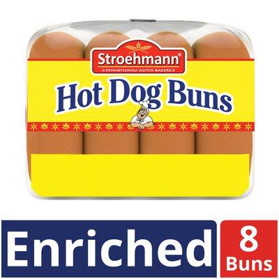 Stroehmann Enriched Hot Dog Buns