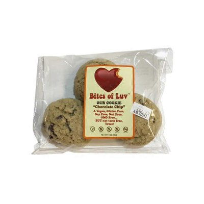 Bites Of Luv Chocolate Chip Cookie Dough Bites