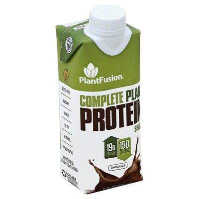 PlantFusion Protein Shake, Complete, Plant, Chocolate