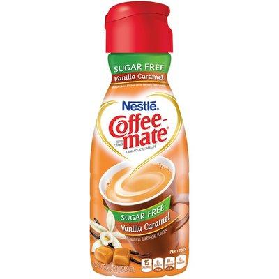 Coffee mate Vanilla Caramel Sugar Free Liquid Coffee Creamer