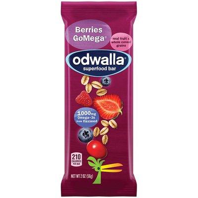 Odwalla Nourishing Food Bar, Original Bar, Berries GoMega
