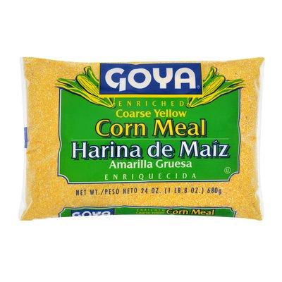 Goya Enriched Coarse Yellow Corn Meal