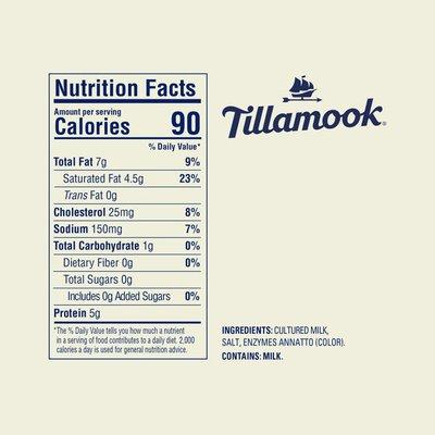 Tillamook Medium Cheddar Cheese Snack Portions