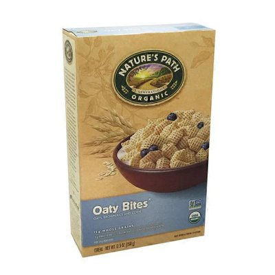 Nature's Path Oaty Bites Oats, Brown Rice And Corn Cereal