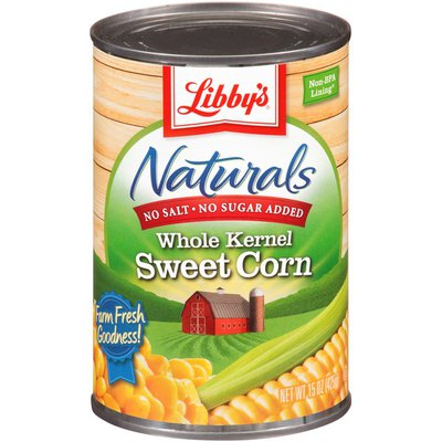 Libby's Naturals Whole Kernel Sweet Corn
