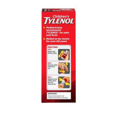TYLENOL Oral Suspension, Cherry