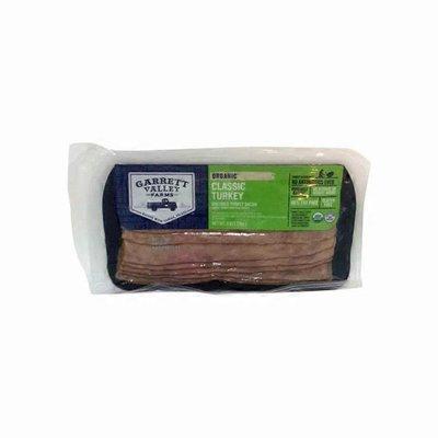 Garrett Valley Farms Organic Uncured Turkey Bacon