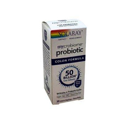 Solaray Mycrobiome Probiotic Colon Formula Veggie Capsules