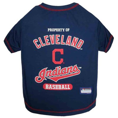 Pets First  Extra Small Cleveland Indians Dog T-Shirt