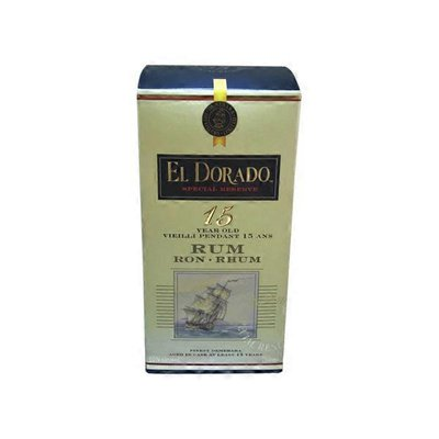 El Dorado 15 Year Old Rum Ron Rhum