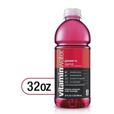 vitaminwater Power C Electrolyte Enhanced Water W/ Vitamins, Dragonfruit Drink