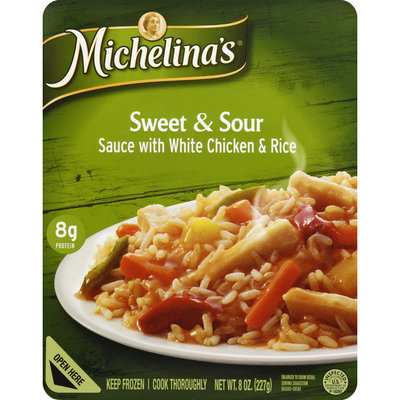 Michelina's Sauce with White Chicken & Rice, Sweet & Sour