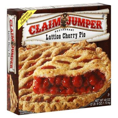 Claim Jumper Cherry Pie, Lattice