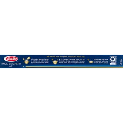 Barilla® Classic Blue Box Pasta Thick Spaghetti