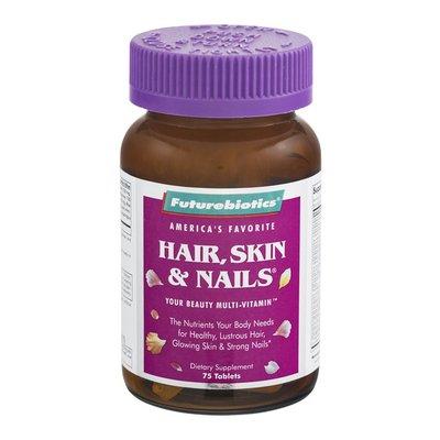 Futurebiotics Hair, Skin & Nails Beauty Multi-Vitamin Tablets - 75 CT