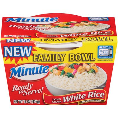 Minute Rice Ready to Serve Long Grain White Rice