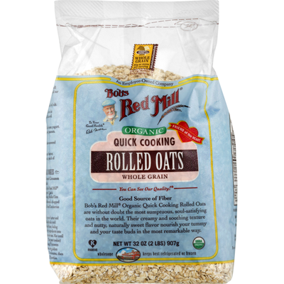 Bob's Red Mill Organic Quick Rolled