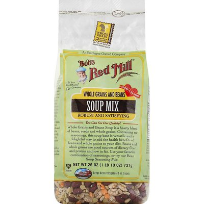 Bob's Red Mill Soup Mix, Whole Grains and Beans