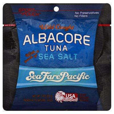 Sea Fare Pacific Tuna, Wild Caught, with a Touch of Sea Salt