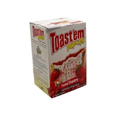 Toast'Em Pop-Ups Toaster Pastries, Frosted Strawberry