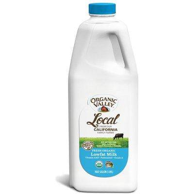 Organic Valley Ultra Pasteurized Lowfat Organic 1% Milk