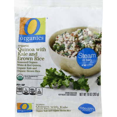 O Organics Quinoa, Organic, with Kale and Brown Rice
