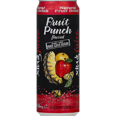 Xingtea Fruit Drink, Natural, Fruit Punch Flavored